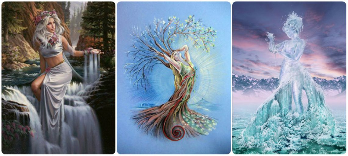goddess water spring