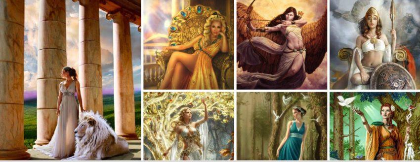 Жената в Богинята