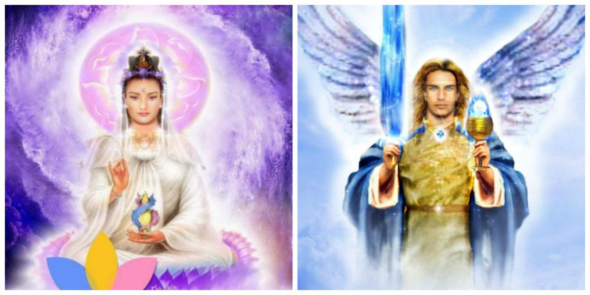 archangel michael and quan in
