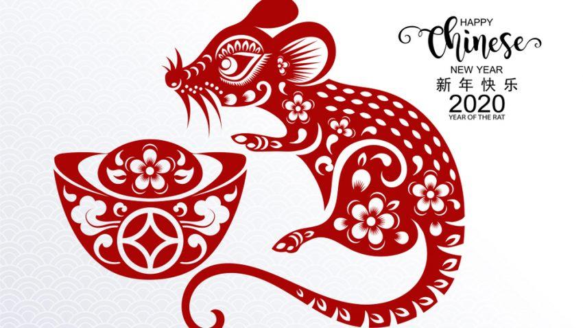 китайска нова година на плъха 2020
