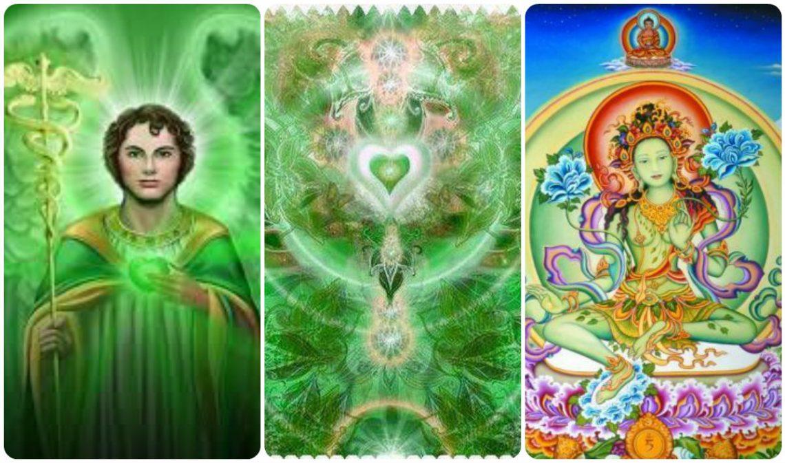 архангел рафаил и зелената тара